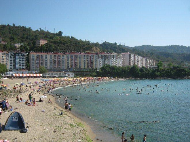 Giresun Tirebolu Plajı